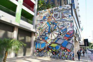 Como melhorar os espaços dos estacionamentos e das cidades por meio da arte urbana